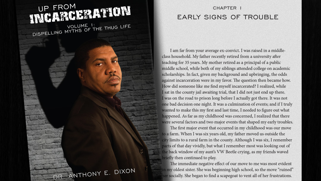 Up From Incarceration book cover